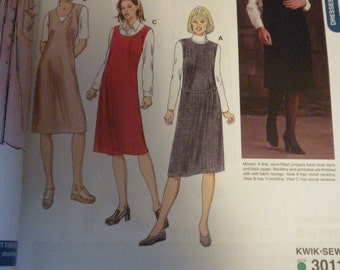 Kwik Sew 3011 Misses Jumpers   Size XS-XL