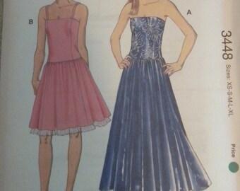 Kwik Sew 3448 Misses Dresses