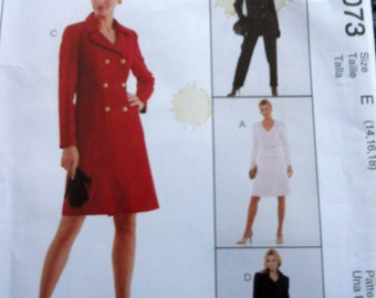 McCalls 9073 Misses Unlined Jacket, Dress, Pants, and Skirt