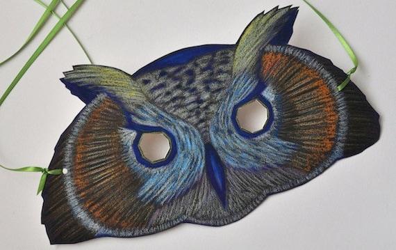 Owl Mask/ Halloween