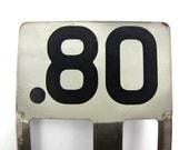Vintage 80 Cents Cash Register Flag