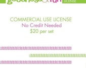 Commercial License (no artwork credit required) for Goodness and Fun