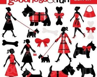 Terrier clip art | Etsy