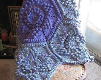 Flower Blanket Pattern for Toddlers