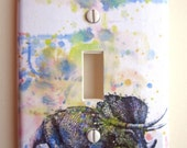 Triceratops Dinosaur Decorative Light Switch Cover Great for Children Kids Room Decor