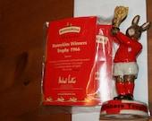 Royal Doulton Bunnykins Winners Trophy 1966 number 0266 Figurine