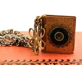 Miniature Book Locket