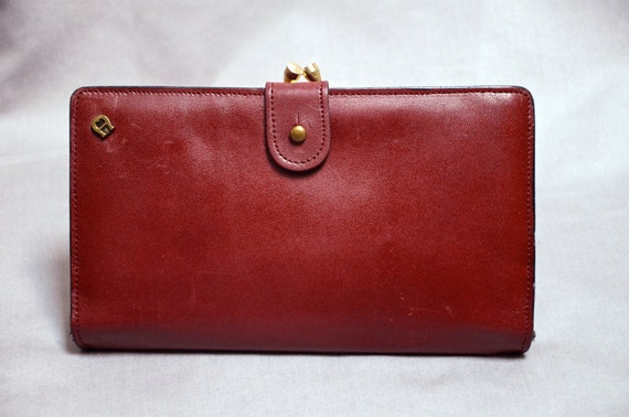 70s  ETIENNE AIGNER Made in ITALY Travel Wallet