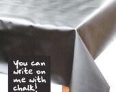 Chalkboard Cloth Oilcloth Tablecloth