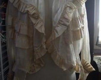 Edwardian cream color jacket