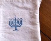 Prayer Bag Hanukkah Menorah