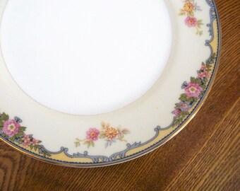 SALE - Vintage Noritake Oxford Salad Plates