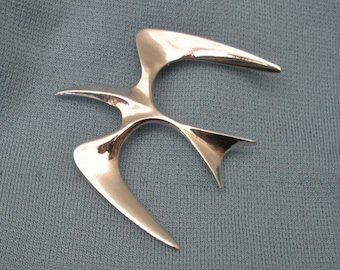 Vintage Sarah Coventry Seagull Brooch