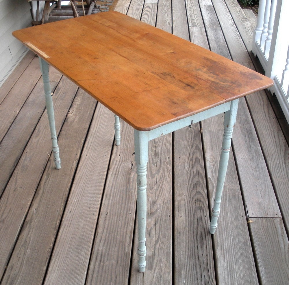 Sale Antique Vintage 1920s Folding Sewing Table