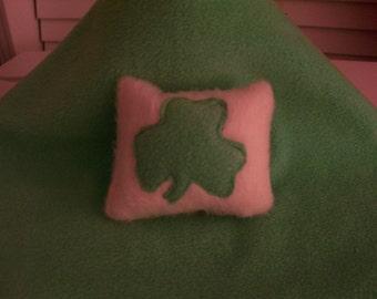 Shamrock Catnip Toys - Set of 2