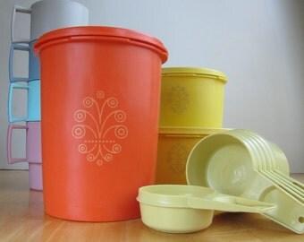 Tupperware Storage Container - Vivid Orange
