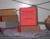 Premium Handmade Olive Oil Soap - Amber Musk