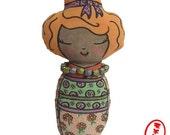 Ginger Bun Doll