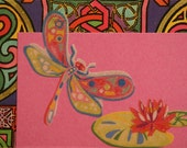 ACEO Original No. 3 Dragonfly Series by Flynnch