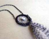 Crystal Dreamcatcher Necklace