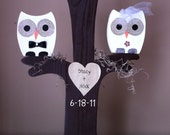 Owl Wedding Tree Centerpiece