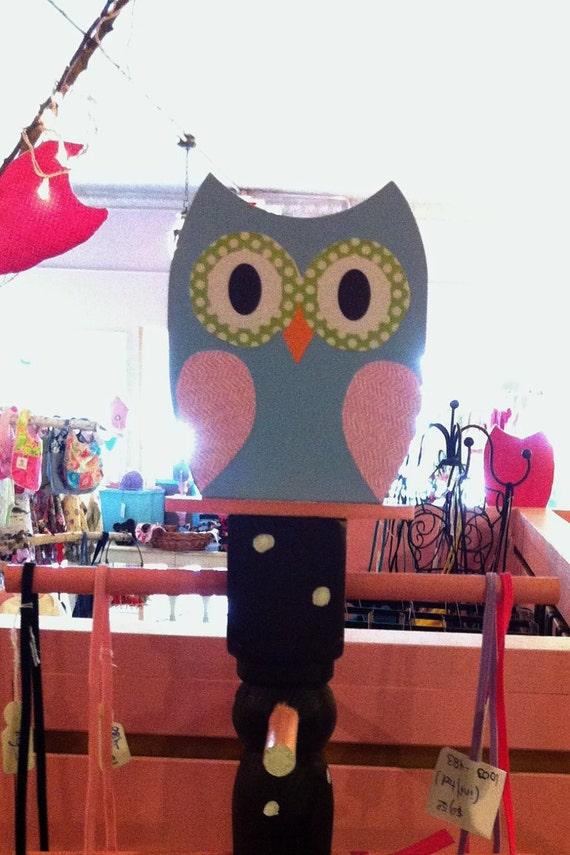 Owl Jewlery Tree and accessory holder Wood