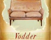 Modern Design Deck - V is for Vodder - small print - of  a mid century icon