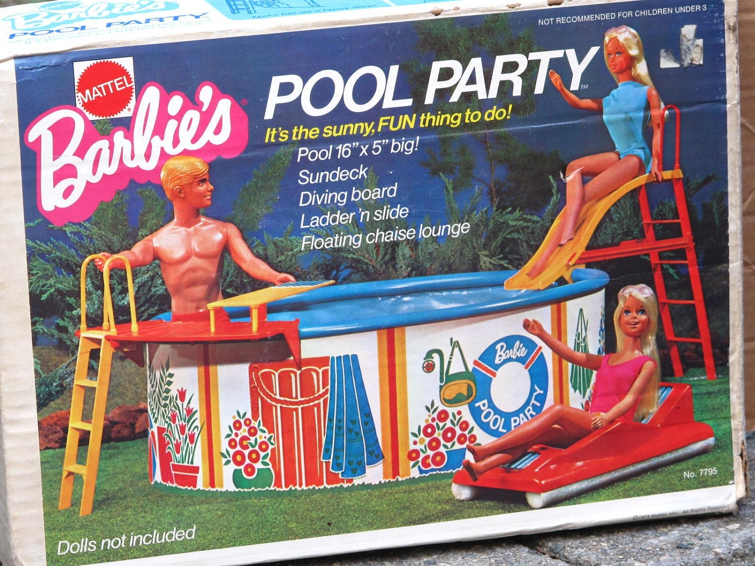 Barbies Pool Party Swim On Over