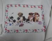 Puppy Love Hanes Holiday Sweatshirt XXL 50/50 Extra  Soft  Christmas Puppy Sweatshirt /Santa's  Helpers Cozy Sweatshirt
