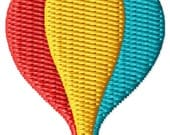 Hot Air Balloon Machine Embroidery Design Mini