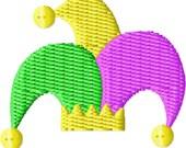 Mardi Gras Hat Mini Machine Embroidery Design