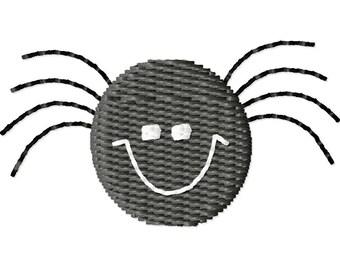 Halloween Spider Machine Embroidery Mini Design