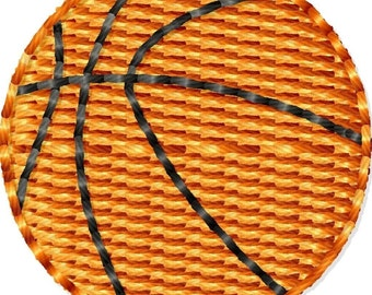 Basketball Machine Embroidery Design Mini