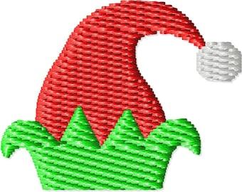 Elf Hat Machine Embroidery Design Mini