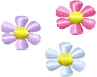 Flower Mini Machine Embroidery Design