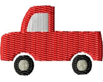 Truck Mini Machine Embroidery Design