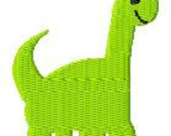 Dinosaur Mini Machine Embroidery Design