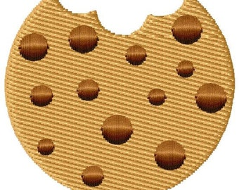 Chocolate Chip Cookie Mini Machine Embroidery Design