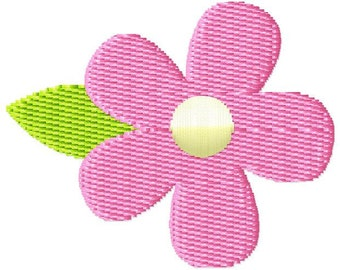 Flower 2 Mini Machine Embroidery Design