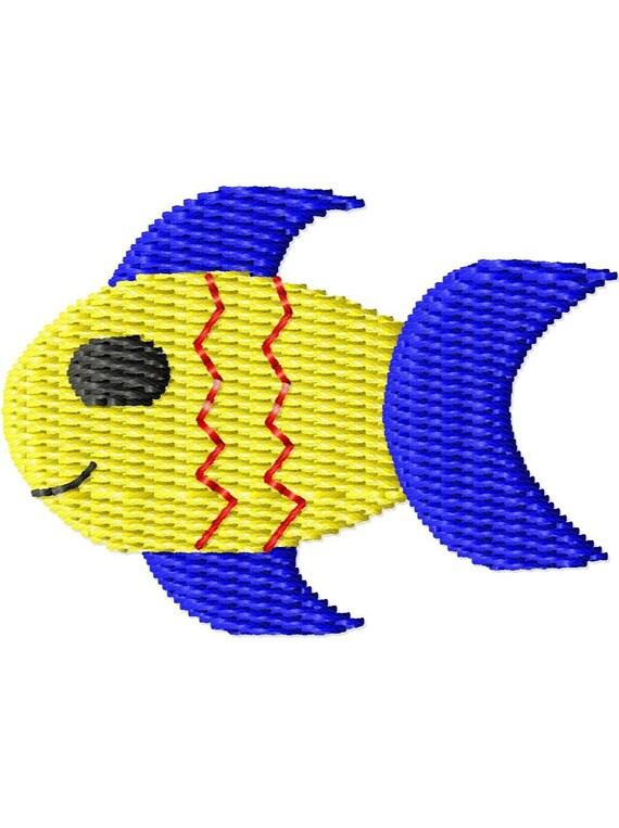Fish Mini Machine Embroidery Design
