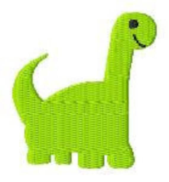 Dinosaur Mini Machine Embroidery Design