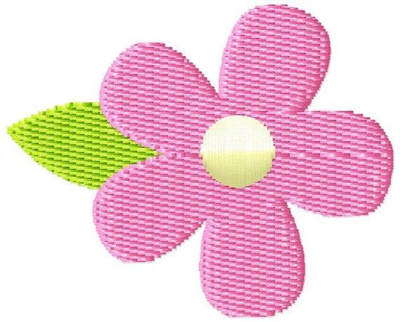 Flower 2 Mini Machine Embroidery Design