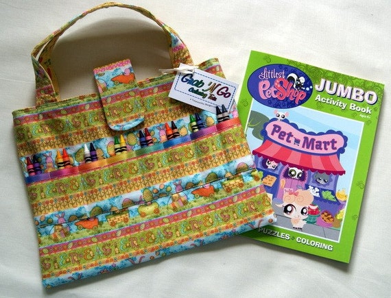 Coloring Book Organizer : Clearance item easter tote child coloring book and crayon