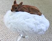 Snow Deer, Cocktail Hat.