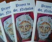 Santa Claus Holy Cards