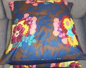 Clearance - was 24 - Throw Pillow Cases Cushion Covers Removeable 16X16 from Designer Anna Maria Horner fabric Set of 2