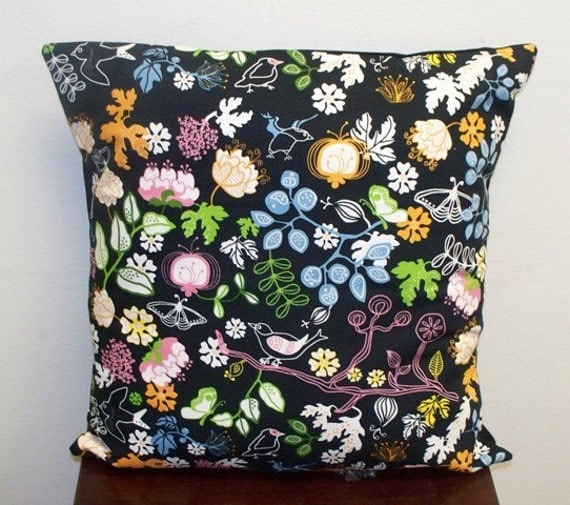 throw pillow cover in ikea home decor fabric by pillowsandmore. Black Bedroom Furniture Sets. Home Design Ideas