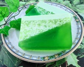 Soap - Cucumber Melon  Soap Made With Goats Milk - Glycerin Soap - Handmade Soap - SoapGarden