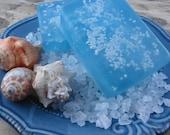 Soap - Waterfall Mist Sea Salt  Soap - Glycerin Soap - Handmade Soap - Dead Sea Salt - SoapGarden