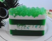 Soap - Santa's  Tree Farm  - Glycerin Soaps - Holiday Soap - Christmas Soap - SoapGarden